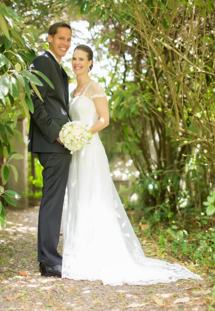 Alexandra und Stefan Hochzeitsfoto